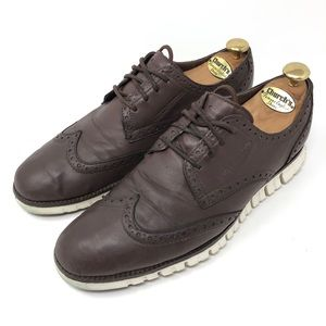 Cole Haan ZeroGrand Deconstructed Wing Tip Shoes